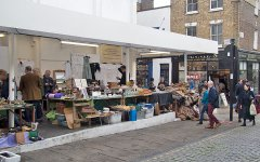 Charlton Place Market, Camden Passage